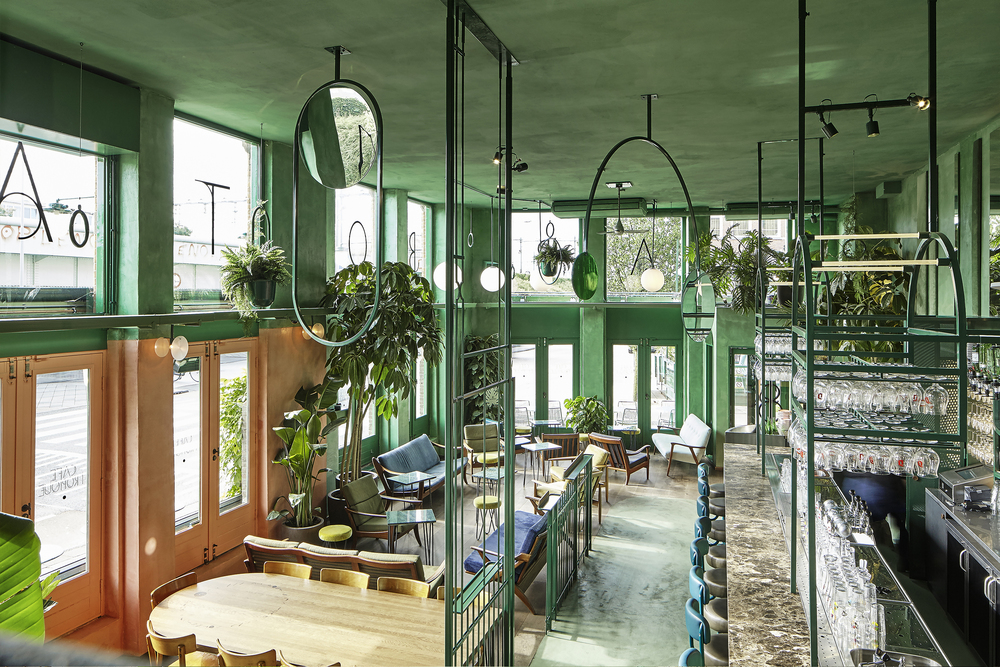 Bar Botanique Cafe Tropique — Studio Modijefsky Interiors