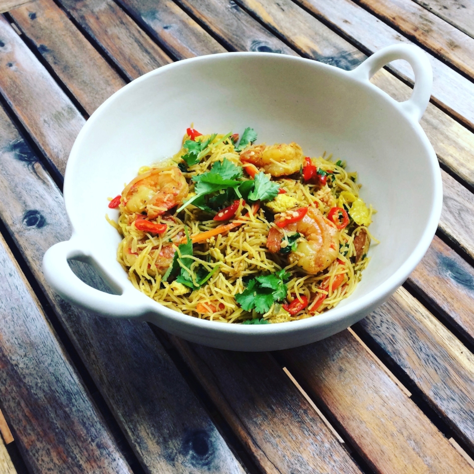 Singapore Curry Noodles