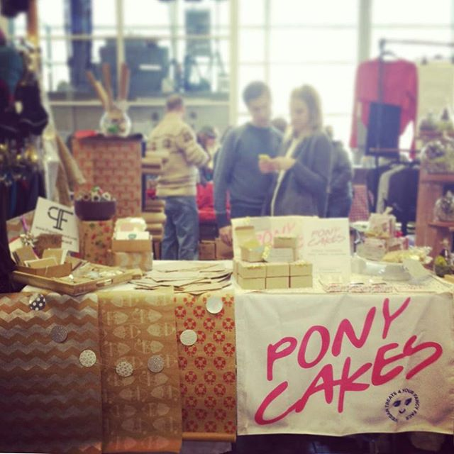 We're excited to be paired up with #vegan #glutenfree @ponycakesnyc at the #bustmagazine #bustcraftacular 11-7 Saturday and Sunday. Come on down! We know your #presents are still naked.