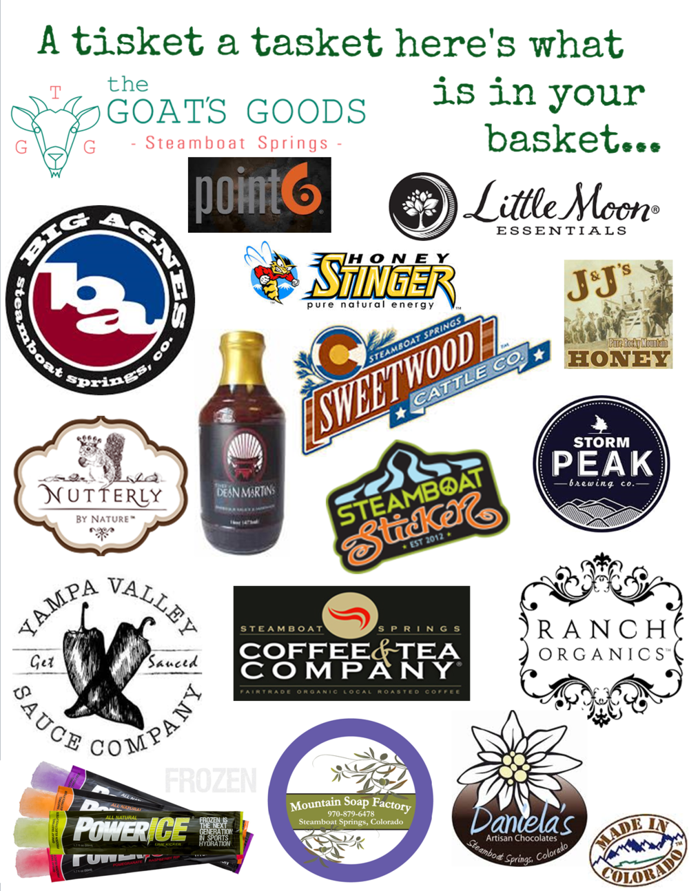 Expect to see newly handpicked local favorites added to the baskets often...