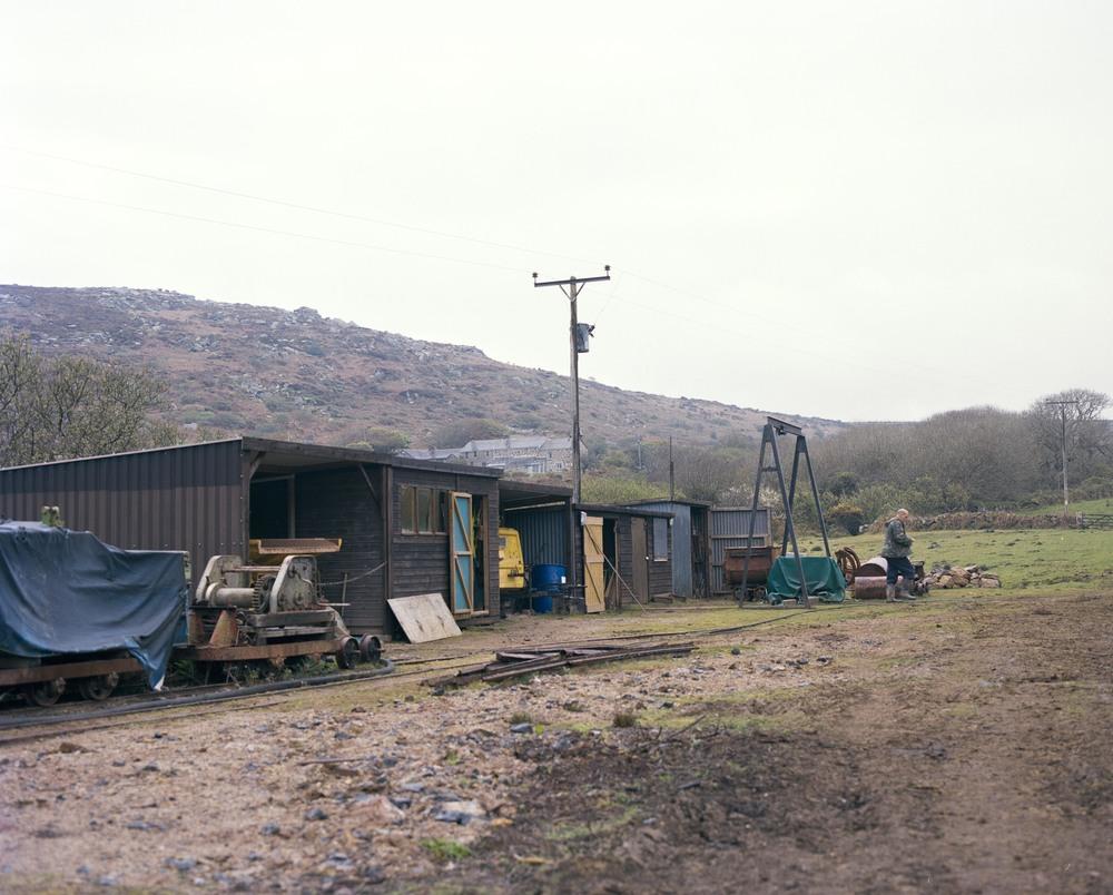 The surroundings of Rosevale mine