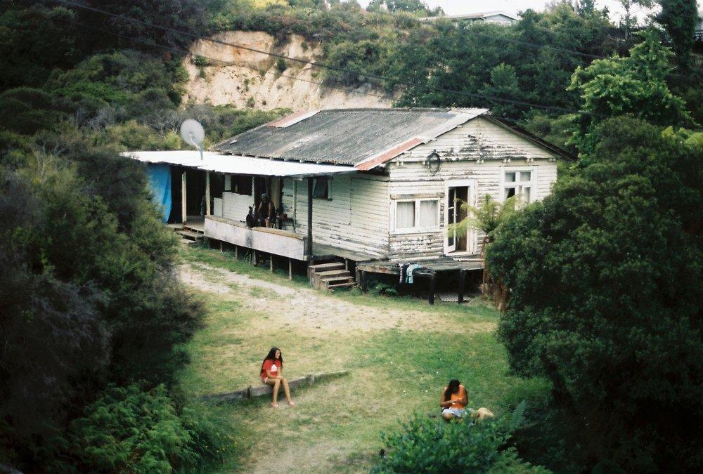 A Maui house in the centre of Rotorua's hot springs, Rotorua, New Zealand, 20/feb/15