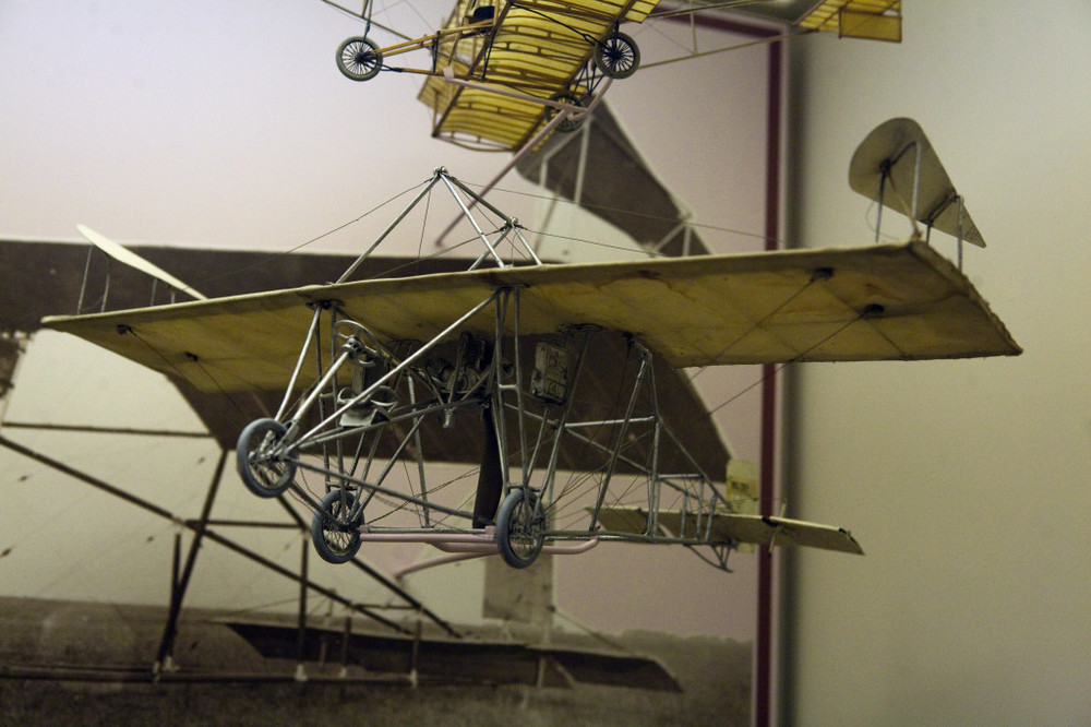 The Walden III - his first flyable model.  Notice the winglets - WAY ahead of his time!