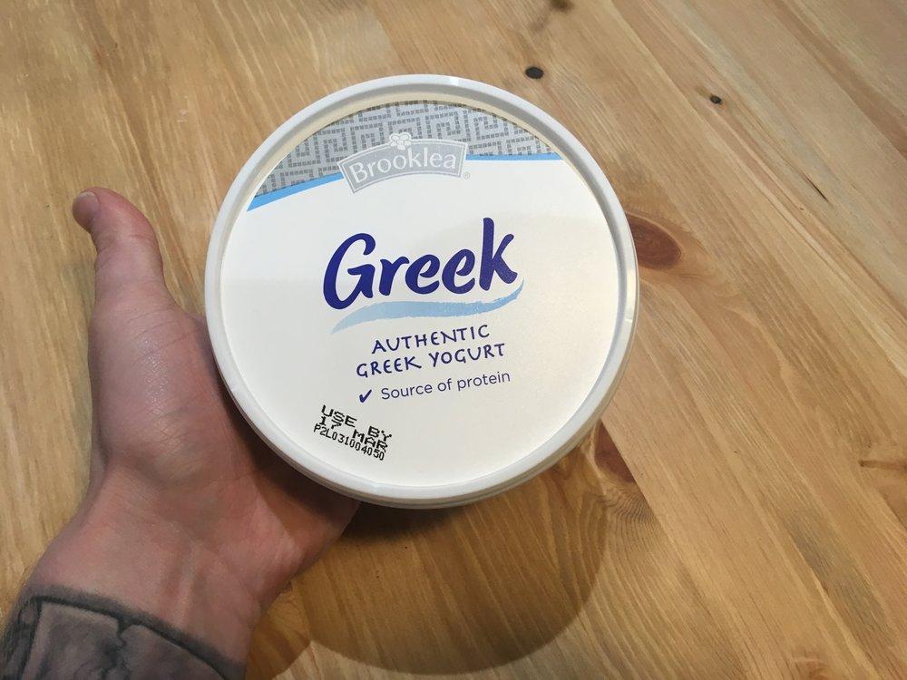 Greek Yoghurt - Online Personal Trainer