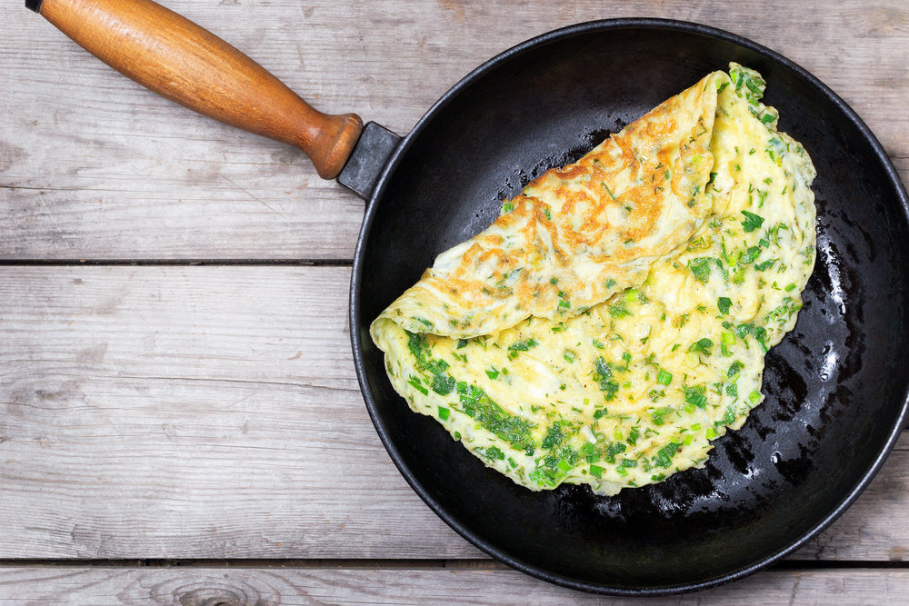 Online Personal Trainer Breakfast Recipes - Solo French Style Omelette.jpg
