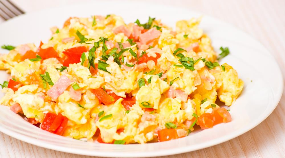 Online Personal Trainer Breakfast Recipes - Eggy Scrambled Breakfast.jpg