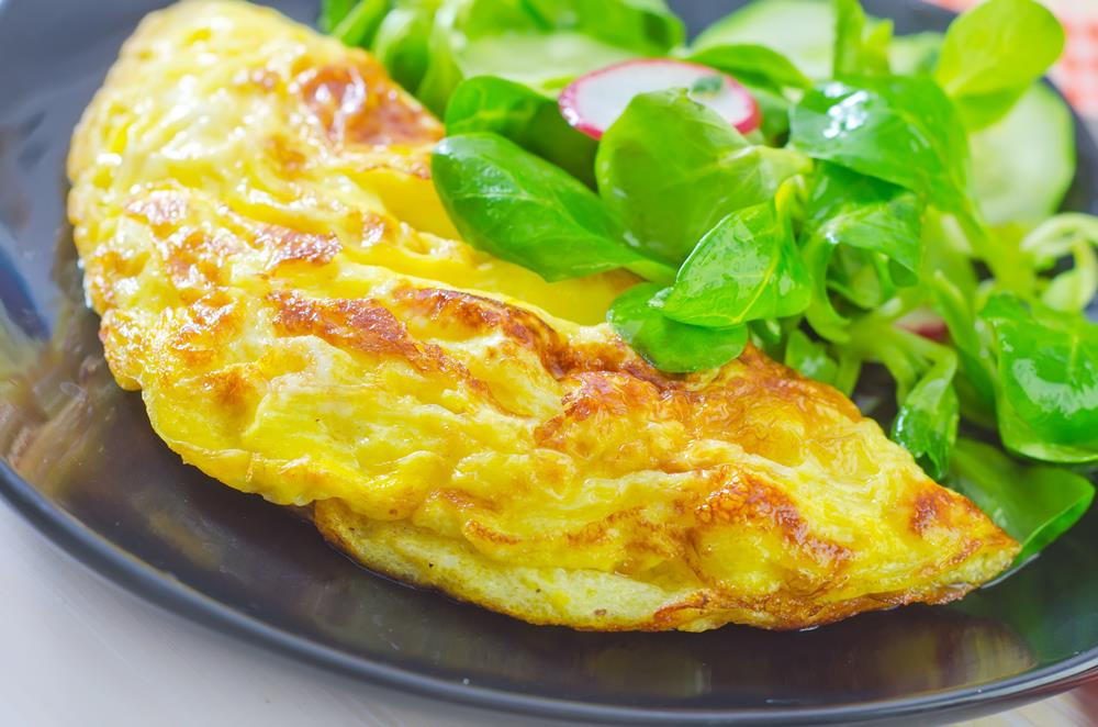 Online Personal Trainer Breakfast Recipes - Ham Omelette.jpg