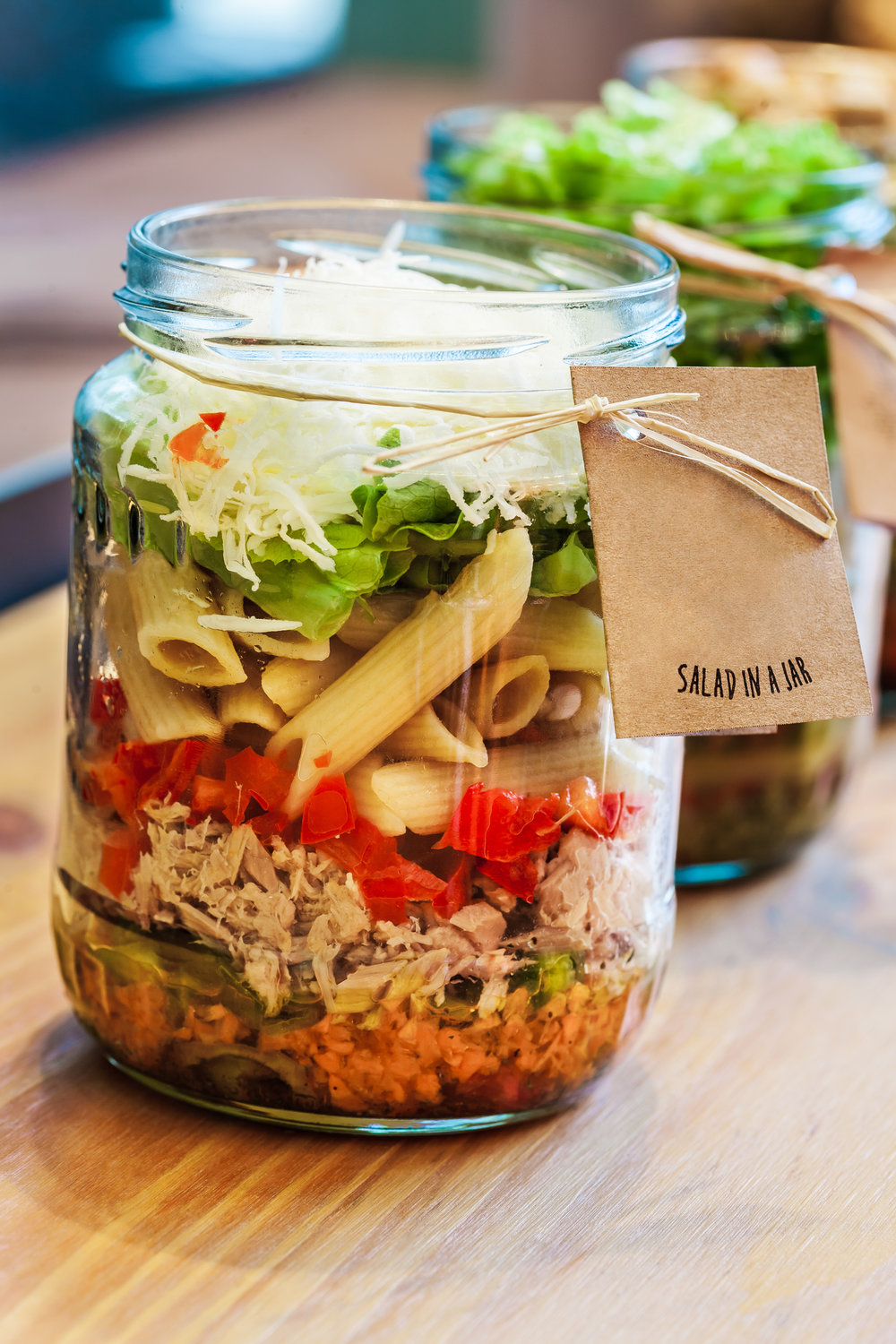 Online Personal Trainer Lunch Recipes - Tuna & Pasta Lunch Jar.jpg