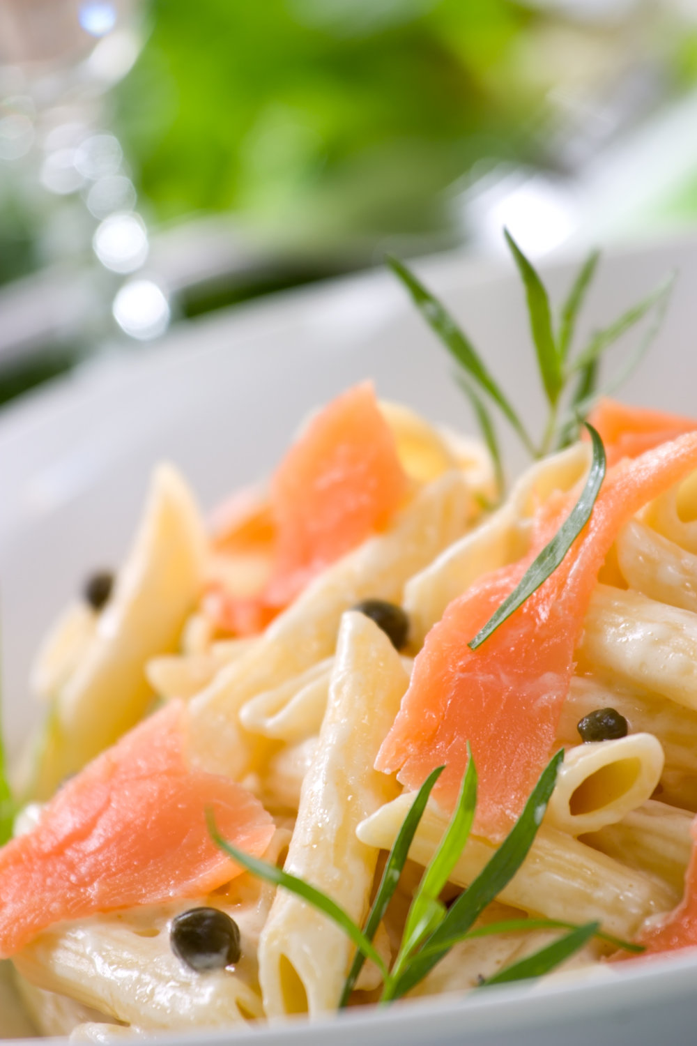 Online Personal Trainer Lunch Recipes - Salmon & Prawn Penne Salad.jpg