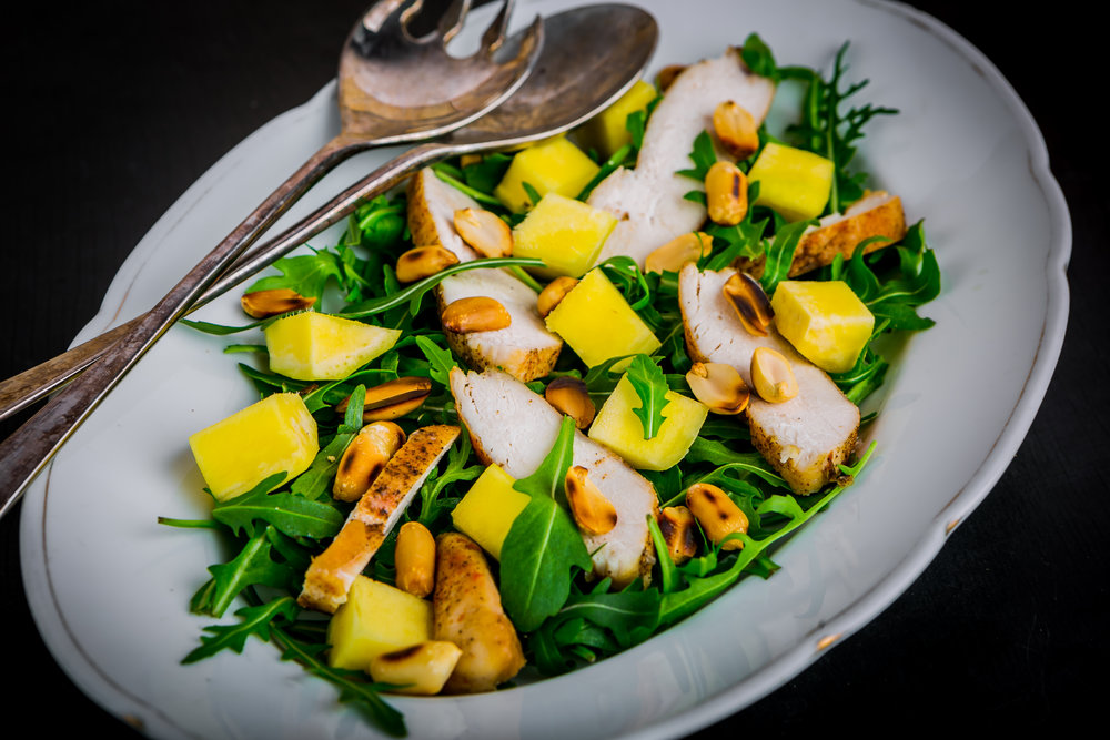 Online Personal Trainer Lunch Recipes - Chicken & Mango Salad.jpg