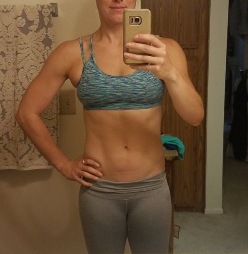 Candace improved her core and upper body strength and completed the Spartan Race Trifecta!