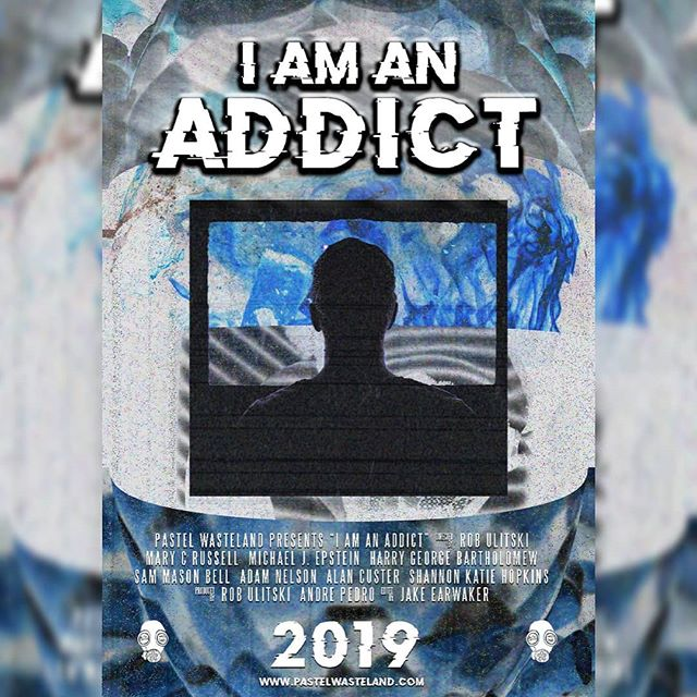 Super excited to announce #IAMANADDICT Stay tuned for more news! #filmmaking #filmfestival #horror #horrorshow #anthology #horroranthology #director #creepy #addicted #addiction #americanhorrorstory  #usa #uk #mexico  #vhs #90s #aesthetic #90saesthetic