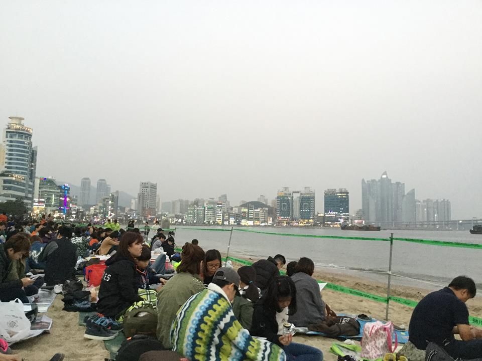 Gwangali Beach, Busan, South Korea