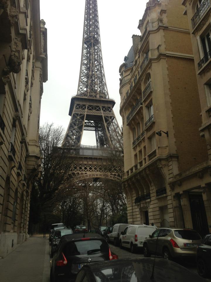 My Paris visit in January 2014
