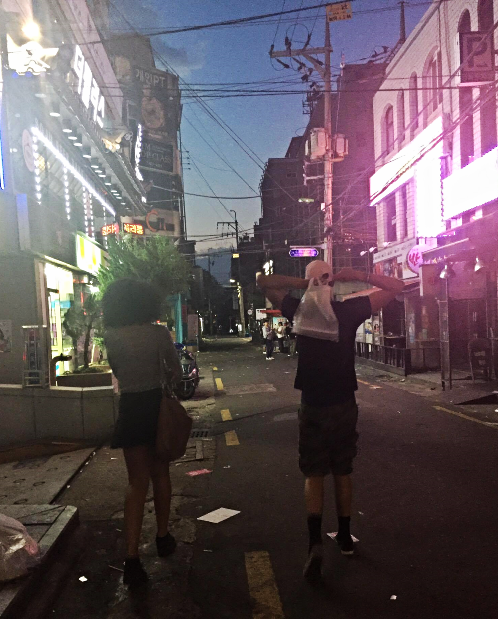 5:00 a.m in Busan. Nights/mornings like these are one like no other.