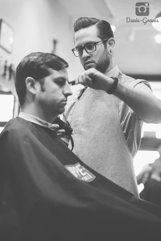 Drew, Licensed Barber