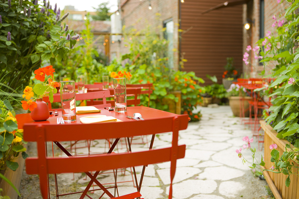 Poppy Restaurant Outdoor Seating