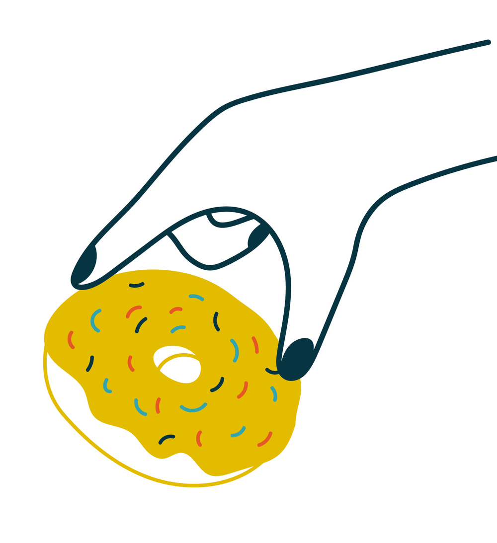 45. snagging the last doughnut  (jolene k)