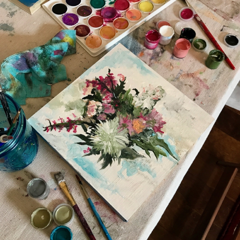 wedding bouquet painting process.jpg