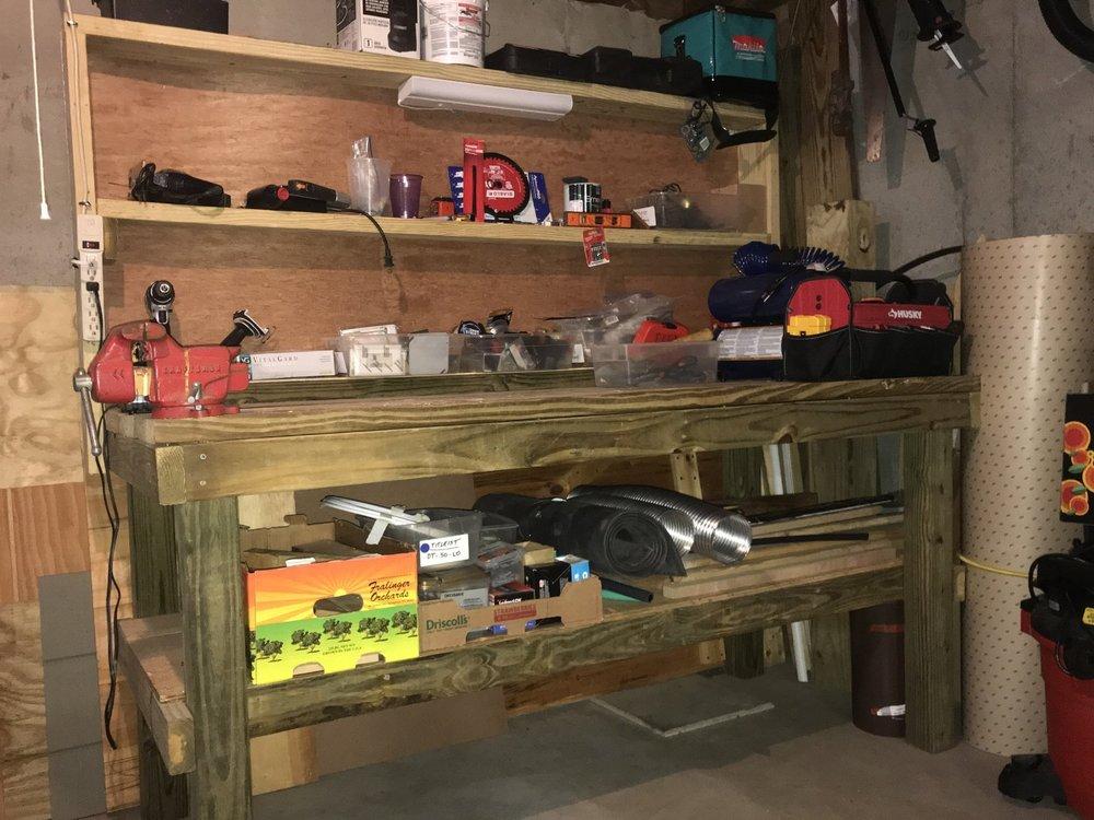 custom tool bench