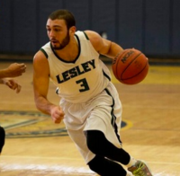 Mike playing at Lesley University '14
