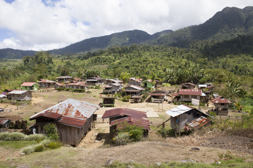 Mountain Village, Mindanao, Philippines
