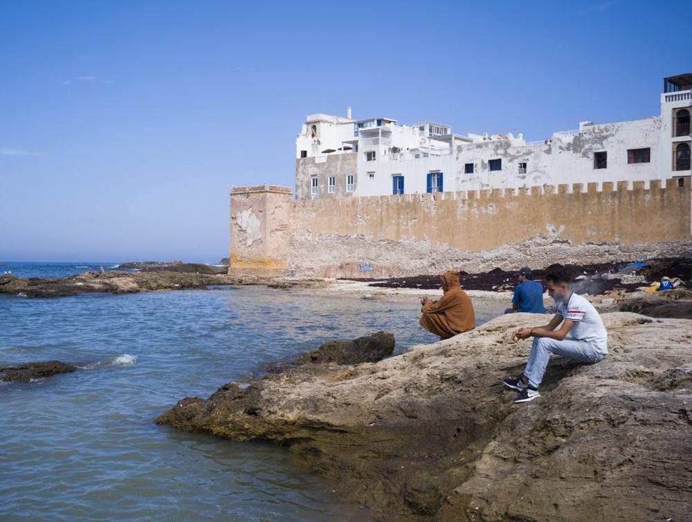 - Essaouira coast