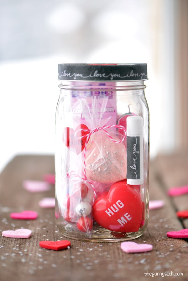 1. Decorated Mason Jars - You can't bottle up love but Mason Jars are your best bet. This DIY craft is sure to be A-mason.