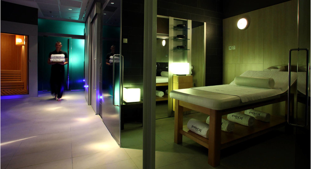 The Fit Spa Lounge, courtesy of the Hotel Pullman Barcelona Skipper website.