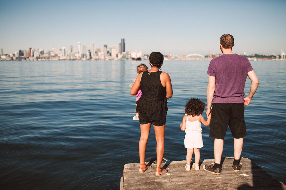 Seattle skyline from West Seattle. (Photo ©Jeff Marsh).