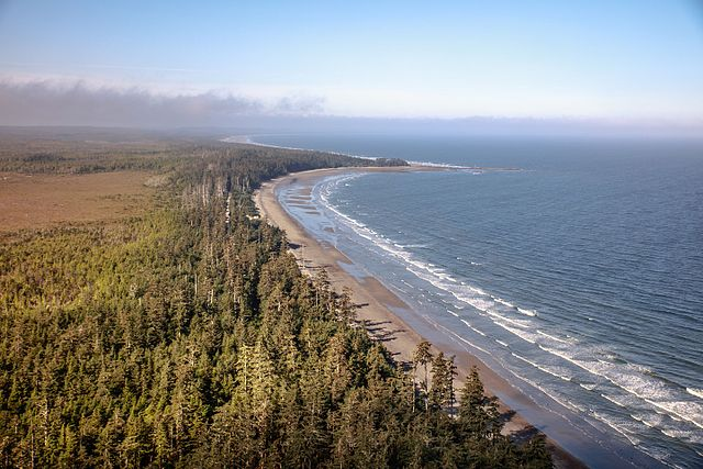 Naikoon Provincial Park in Haida Gwaii. Photo by Murray Foubister from Flickr used  under the terms of the cc-by-sa-2.0