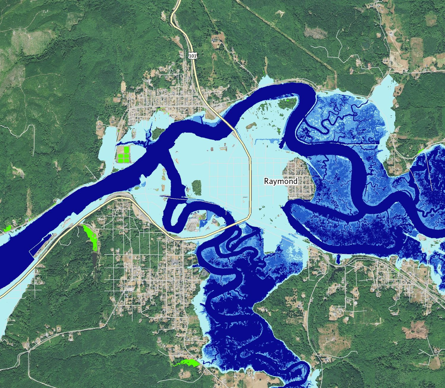 Learn How Were Mapping SeaLevel Rise In Southwest Washington - Rising oceans map