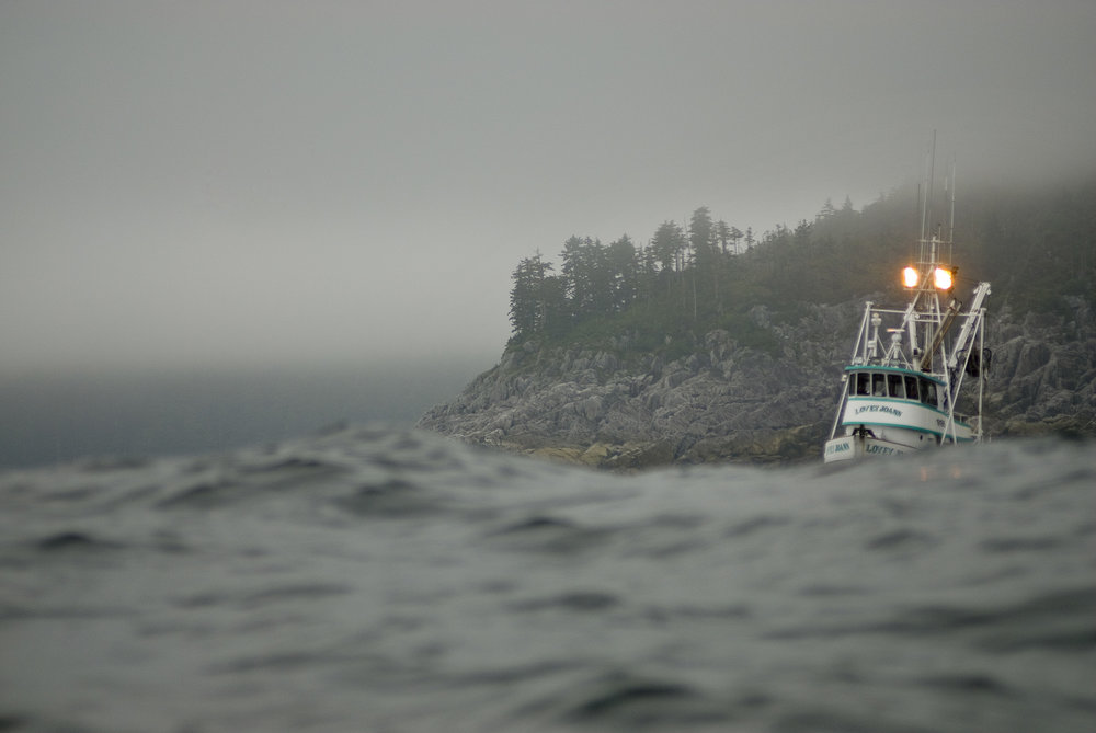 Fishing boat in Alaska. Photo by Bridget Besaw / TNC