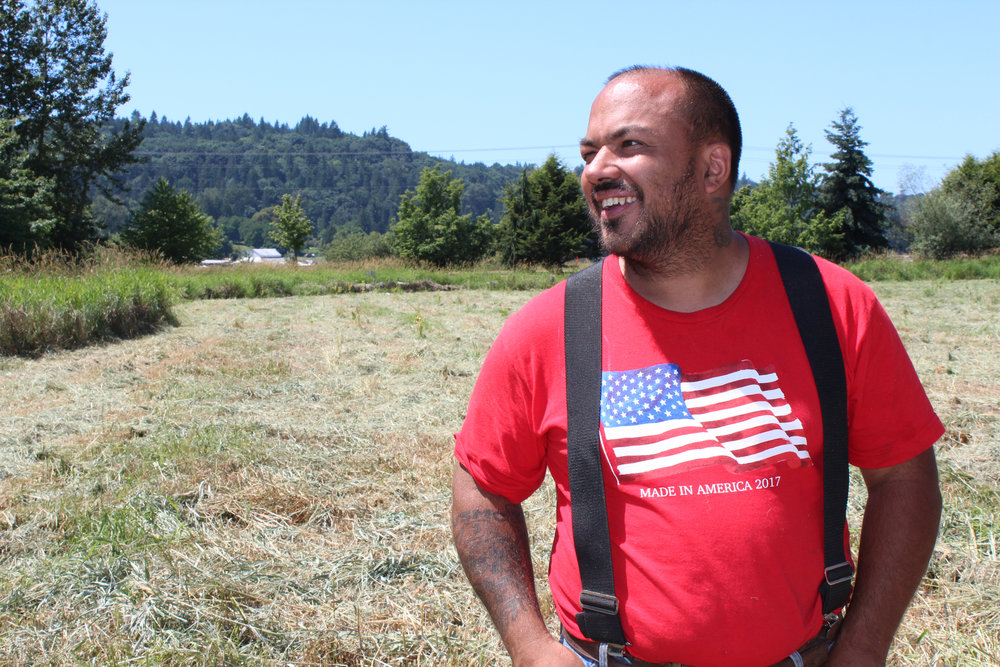 Chris Rodriguez. Photo courtesy of Snohomish Conservation District.
