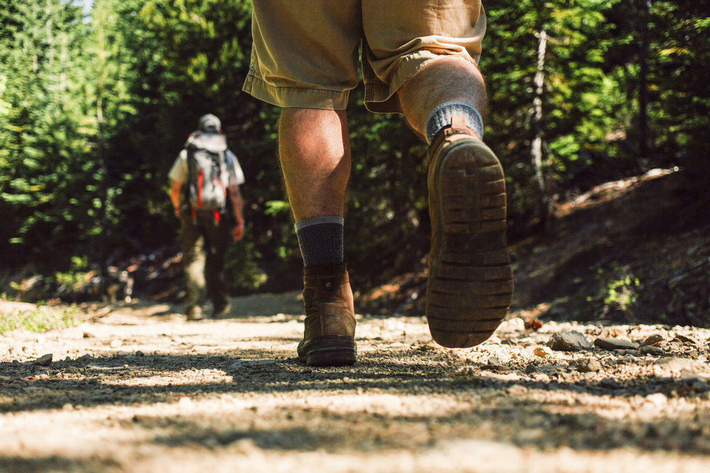 Hiking in the Central Cascades near Cle Elum. Photo by Caleb and Ariana Babcock.