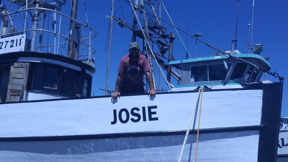 Jim Stanley on the fishing vessel Josie. Photo via Facebook.