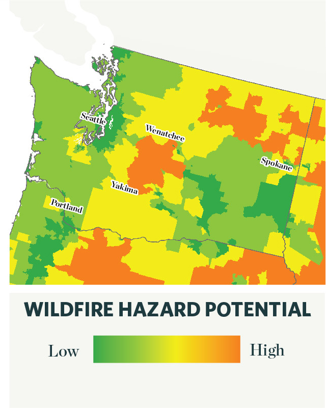 Spokane Wildfire Map.New Research Shows Increased Wildfire Risk Among Minorities The