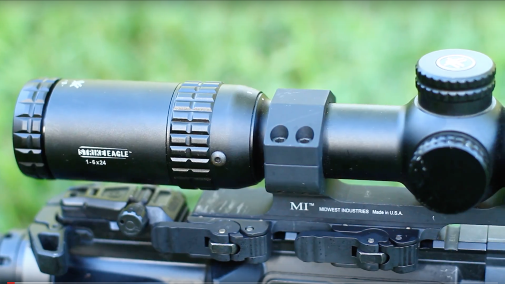 """The Midwest Industries 30mm 1.4"""" Offset QD Mount:https://www.midwestindustriesinc.com/index.cfm?fuseaction=category.display&category_ID=2457"""