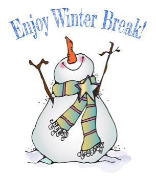 Winter Break - Dec 25 - Jan 5  (School resumes January 8)