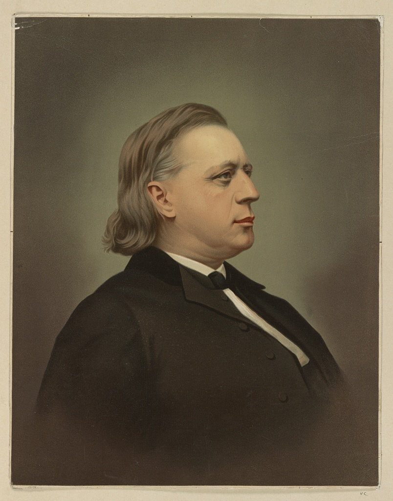 Henry Ward Beecher, Library of Congress.