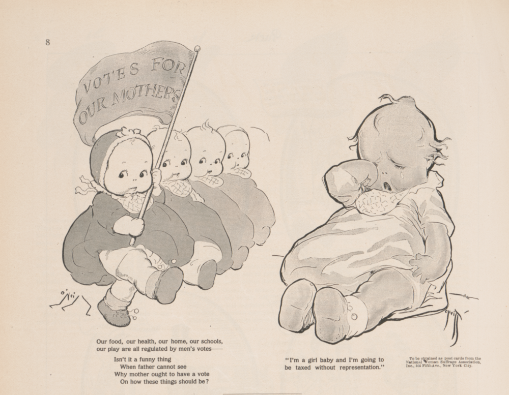 Kewpies for Suffrage