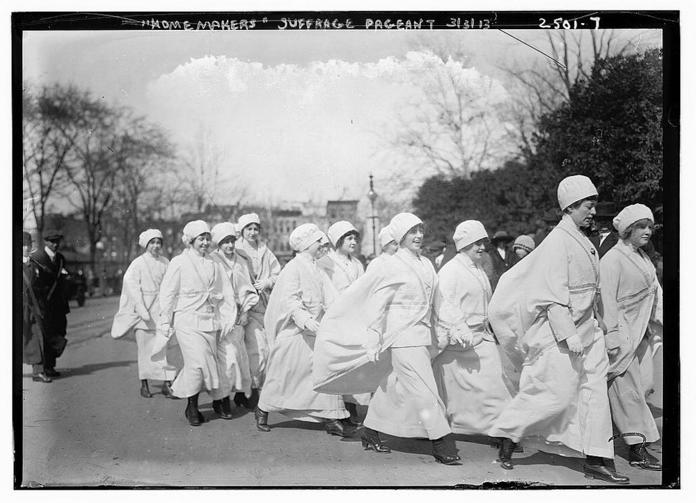 """Home Makers,"" Suffrage Parade"