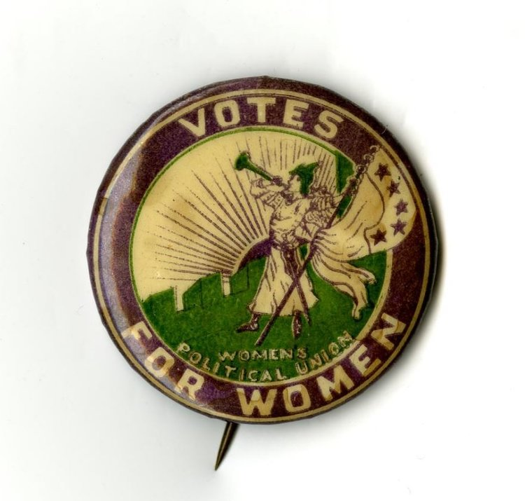 Imagery And Propaganda History Of Us Womans Suffrage