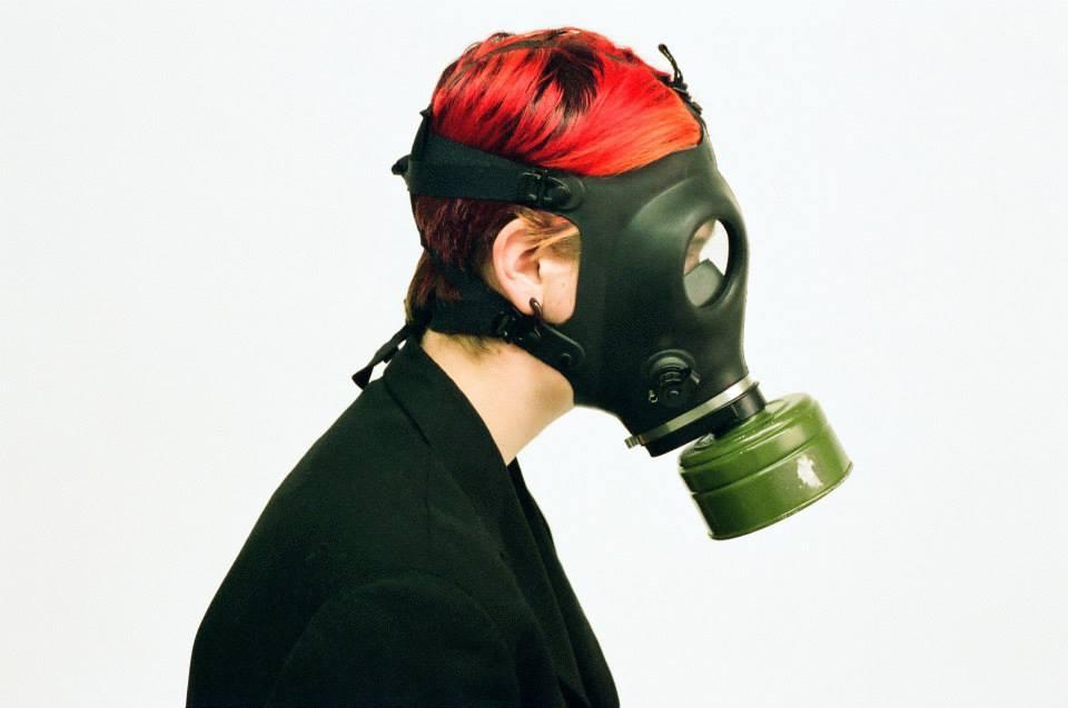 Jenkins, Cheyenne. Masks. 2013. 35mm Film Photography. Montreal, Quebec