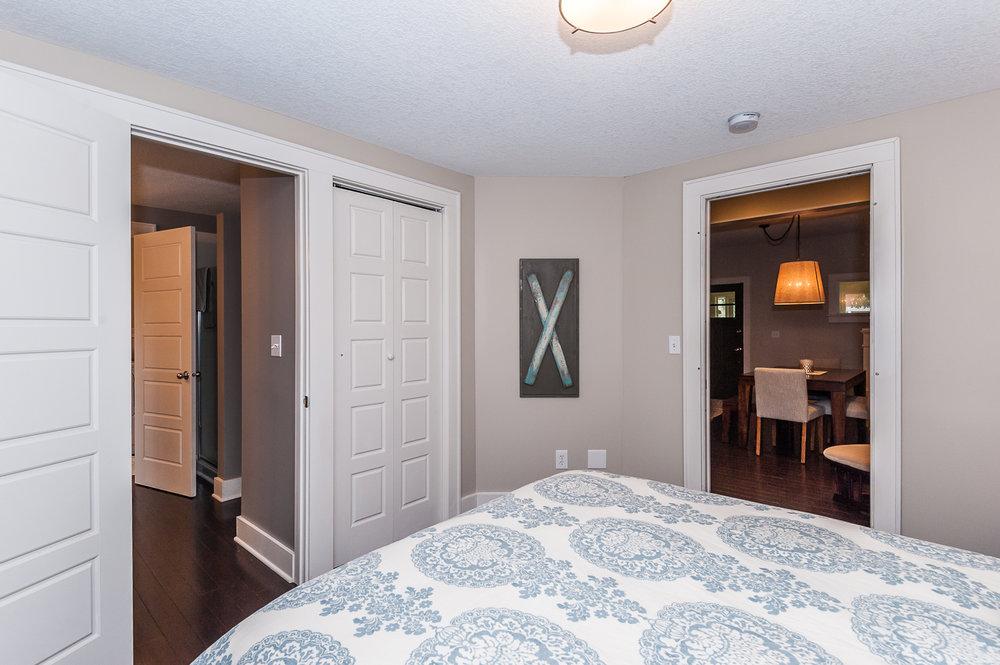 Main floor: Bedroom #1