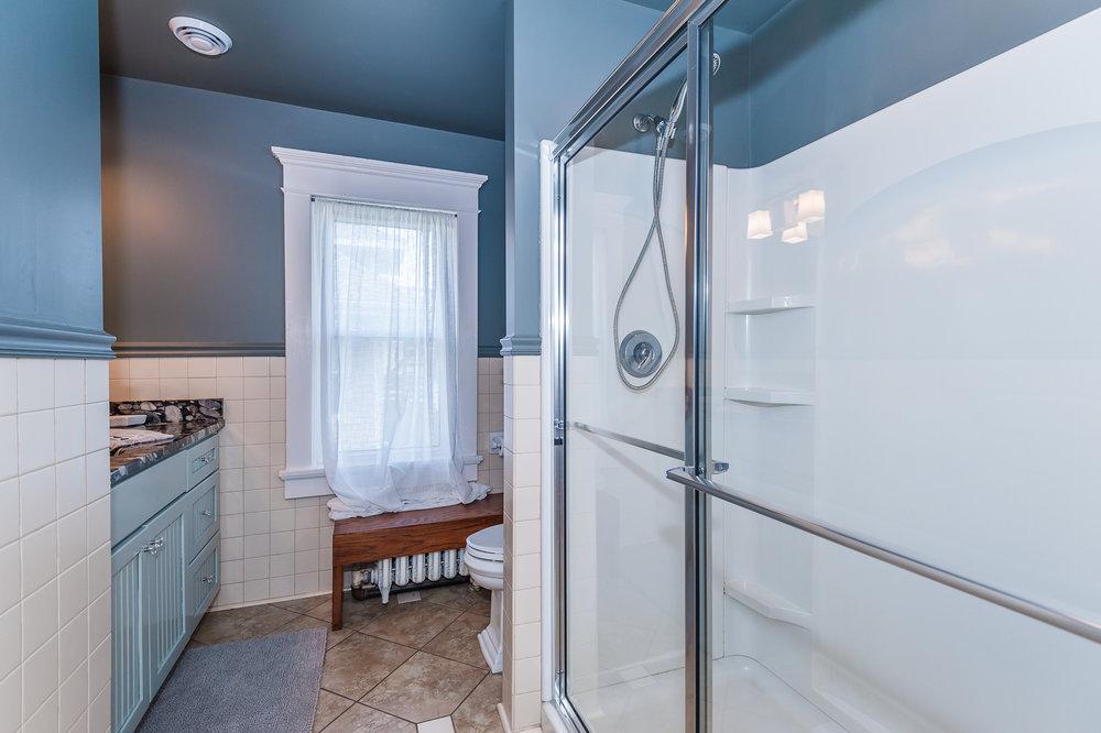 Second floor: Full bathroom