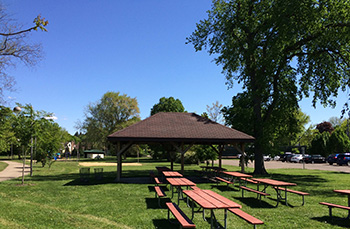 Minutes to a wonderful park with playground and picnic area.