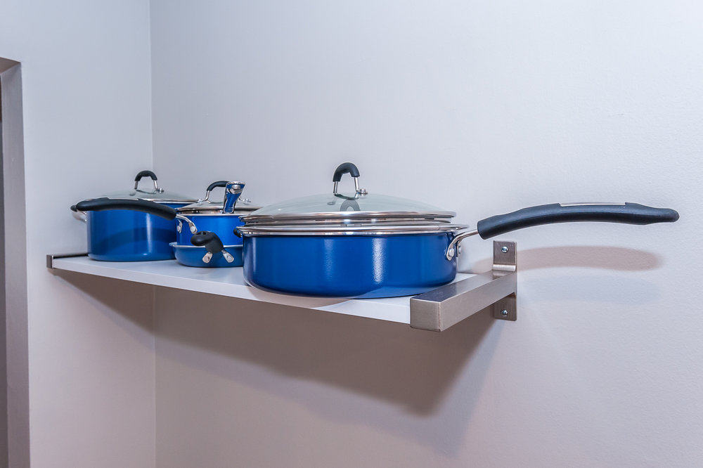 Pots and pans included!