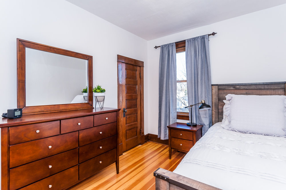 Second floor: Bedroom #1
