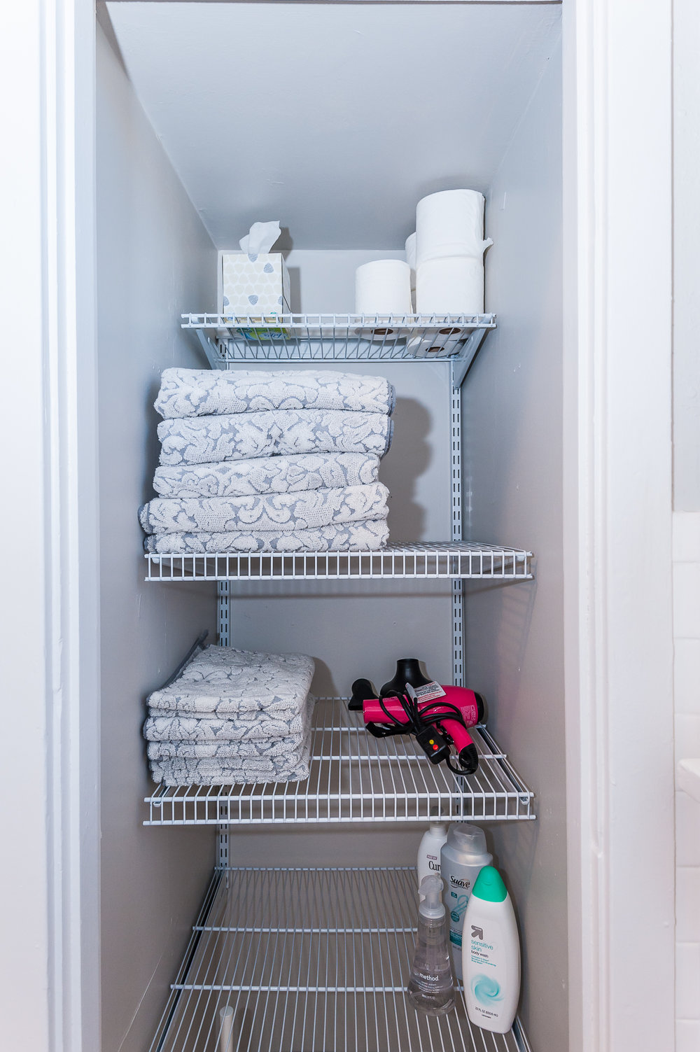 All linens, towels, and bedding included.
